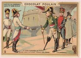 Chromo Poulain. N°2 / Je Vous Rendrai La Place Quand Vous M'aurez Rendu Ma Jambe (daumesnil) - Chocolat