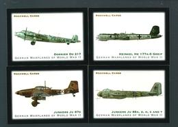 Y103 - SERIE COMPLETE 10 CARTES ROCKWELL - AVIATION ALLEMANDE - LUFTWAFFE - MESSERCCHMITT HEINKEL DORNIER JUNKERS... - Aviation