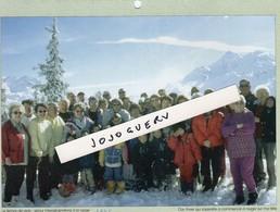 GrandeSynthe Séjour Intergénérations à La Neige En 1996 Format 21x15.5 (extrait De Calendrier - Planches & Plans Techniques