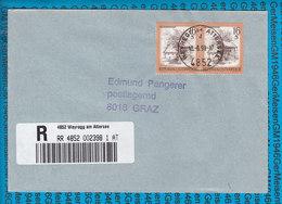 Austria Einschreiben Couvert 4852 Weyregg Am Attersee - Stamped Stationery