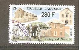 Nouvelle Calédonie 2013 Oblitéré Rond    Le Bagne De Nouville établissement Pénitentiaire - Nouvelle-Calédonie