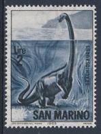 San Marino 1965 Mi 834 YT 646 ** Brachyosaurus / Brachiosaurus - Prehistoric Animals / Prähistorische Tiere - Prehistorics