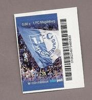 Privatpost- Fußball Fútbol Soccer Football - 1. FC Magdeburg - 1. FCM - Aufstieg - Fahne - Fussball