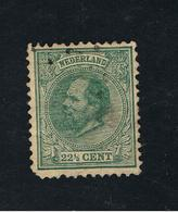 15. Dez 1872 Freimarken König Willem III Michel 25  Gestempelt O - 1852-1890 (Wilhelm III.)