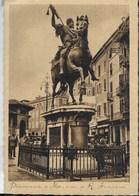 EMILIA ROMAGNA - PIACENZA - MONUMENTO A FARNESE - VIAGGIATA DA PIACENZA FERROVIA 12.10.1938 - Rimini