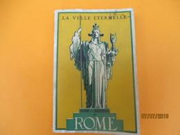 Guide Souvenir De ROME/La Ville Eternelle/VENTURINI/Planta Turistica Di Roma/ Lozzi Editore/Vers 1950       PGC214 - History