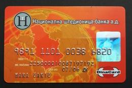Serbia National Savings Bank Credit Card Exp 07/2006 - Credit Cards (Exp. Date Min. 10 Years)