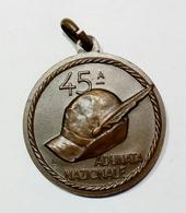 MEDAGLIA - Milano 45^ ADUNATA NAZIONALE ALPINI ( 1972 ) - Italia