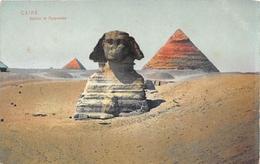¤¤   -  EGYPTE   -  LE CAIRE   -  Sphinx Et Pyramides   -  ¤¤ - Cairo