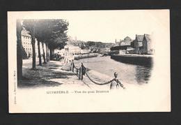 Quimperlé - Vue Du Quai Brizieux - CPA Finistère Bretagne - Superbe état ,dos Non Divisé , Non écrite - Quimperlé