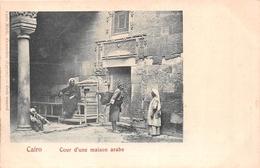 ¤¤   -  EGYPTE   -  LE CAIRE   -  Cour D'une Maison Arabe   -  ¤¤ - Cairo