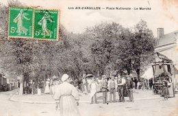 Les Aix D'Angillon Place Nationale - Le Marché - Les Aix-d'Angillon
