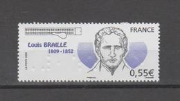 FRANCE / 2009 / Y&T N° 4324 ** : Louis Braille X 1 - Unused Stamps