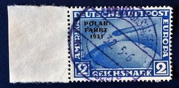 """ALLEMAGNE GERMANY ALEMANIA Deutsche Reich 1931, Michel 457, Overprinted """" POLAR FAHRT """" USED - Used Stamps"""
