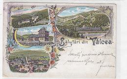 Salutari Din Valcea - Litho - 1901           (A-70-xx) - Romania