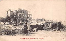 ¤¤   -  EGYPTE   -  ALEXANDRIE   -  Campement De Bédouins   -  ¤¤ - Alexandria