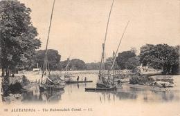 ¤¤   -  EGYPTE   -  ALEXANDRIE   -  The Mahmoudied Canal   -  ¤¤ - Alexandria