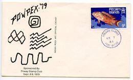 Pitcairn Island 1984 Philatelic Cover W/ Scott 234 - Fish - Stamps