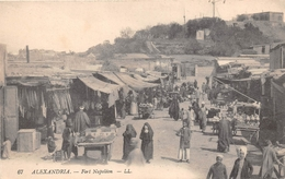 ¤¤   -  EGYPTE   -  ALEXANDRIE   -  Fort Napoléon   -   Marché  -  ¤¤ - Alexandria