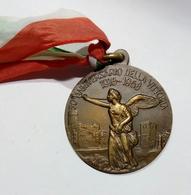 MEDAGLIA - ASS. NAZ. MUTILATI Ed INVALIDI Di GUERRA - 50° Anniversario Della VITTORIA ( 1918 - 1968 ) Bronzo - Italy