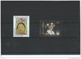 POLYNESIE 2007 - YT N° 801/802 NEUF SANS CHARNIERE ** (MNH) GOMME D'ORIGINE LUXE - Polynésie Française