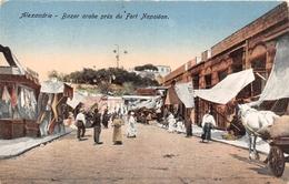¤¤   -  EGYPTE   -  ALEXANDRIE   -  Bazar Arabe Près Du Fort Napoléon  -  ¤¤ - Alexandria