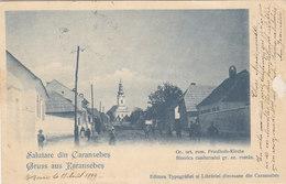 Salutari Din Caransebes - 1899          (A-70-xx) - Rumänien