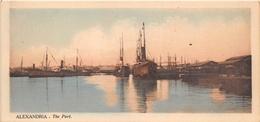 ¤¤   -  EGYPTE   -  ALEXANDRIE   -  The Port   -  Bateau De Commerce , Cargo  -  Voir Description   -  ¤¤ - Alexandria