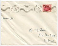 Tunisia 1950 Scott 221 FDC Horse, Carthage Museum - Covers & Documents