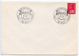 France 1974 Nice International Tourism Fair Cover - Postmark Collection (Covers)