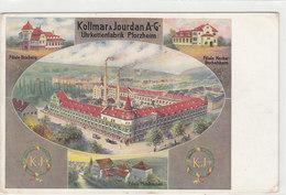 Werbekarte Von Kollmar & Jourdan AG         (A-70-xx) - Pforzheim