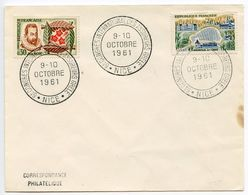 France 1961 Nice 6th International Congress Of Hail Insurers Cover - Commemorative Postmarks