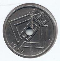 LEOPOLD III * 25 Cent 1938 Vlaams/frans * Nr 8132 - 1934-1945: Leopold III