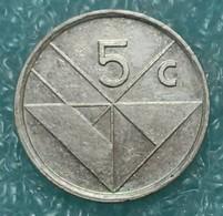 Aruba 5 Cents, 1998 - Monnaies
