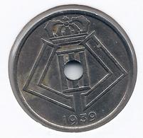 LEOPOLD III * 25 Cent 1939 Frans/vlaams * Nr 7652 - 1934-1945: Leopold III