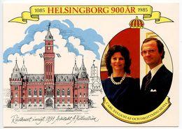 Sweden C.1985 Postcard King Carl XVI And Queen Silvias - Sweden