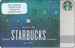 Thailand Starbucks Card  Merry Christmas - 2017 - 6148 - Gift Cards