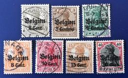 ALLEMAGNE GERMANY ALEMANIA DEUTSCHES Reich, BELGIEN, COLLECTION (LOT 3) - Zona Belga