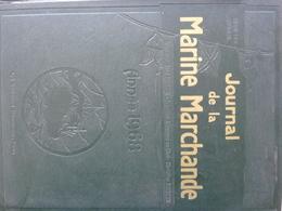 Journal De La Marine Marchande, L'année 1968 Complète - Livres, BD, Revues