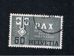 9. Mai 1945 Waffenstillstand In Europa Michel 453 Gestempelt O - Schweiz