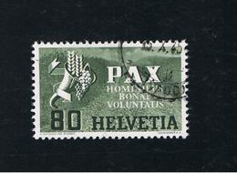9. Mai 1945 Waffenstillstand In Europa Michel 454 Gestempelt O - Schweiz