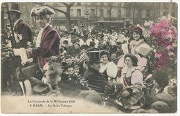 Beauty Queen In Mi Careme Paris 1910 . La Reine Tcheque - Tchéquie