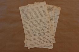 Socialisme Ou Communisme, Texte Anonyme Manuscrit, Vers 1924 - Manoscritti