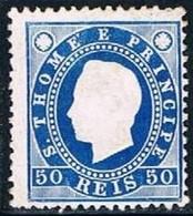 S. Tomé, 1887, # 20 Dent. 12 1/2, MNG - St. Thomas & Prince