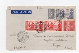 """!!! PRIX FIXE : LETTRE PAR AVION DU 28/12/1939 POUR FREJUS, CACHET """"POSTE MILITAIRE S.P.A"""" - Brieven En Documenten"""