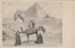 Pyramiden Von Giseh - Schöne Animation - 1905       (A-70-xx) - Pyramiden