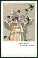 Propaganda Fascismo Colonie Estive A. Dellatorre Cartolina TC6166 - Non Classificati