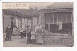 TREMBLAY LE VICOMTE - CORDONNERIE PERRAULT - CHAUSSURES ET REPARATIONS EN TOUS GENRES - 28 - Autres Communes