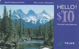 Canada, Hello Phone, Telus, $10, Banff National Park - Canada
