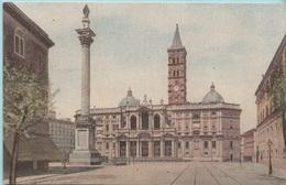 """Roma Basilica Di S: Maria Maggiore (Leggi Pubblicità Sul Retro : IND. NAZ. SURROGATI CAFFE' """"FRANCK"""") - Advertising"""
